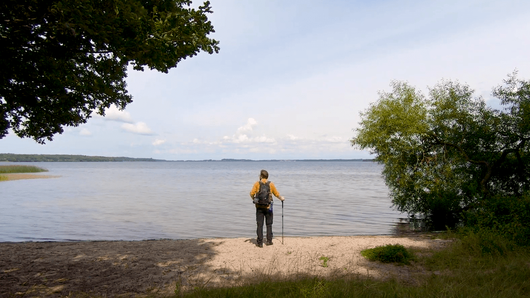 esrum sø rundt fredensborg danmark vandretur 27 km