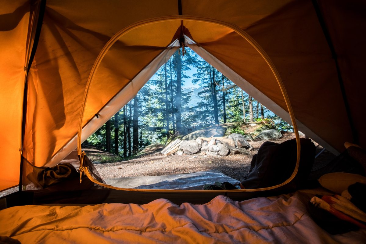 billig vandretur med telt under 900 kroner