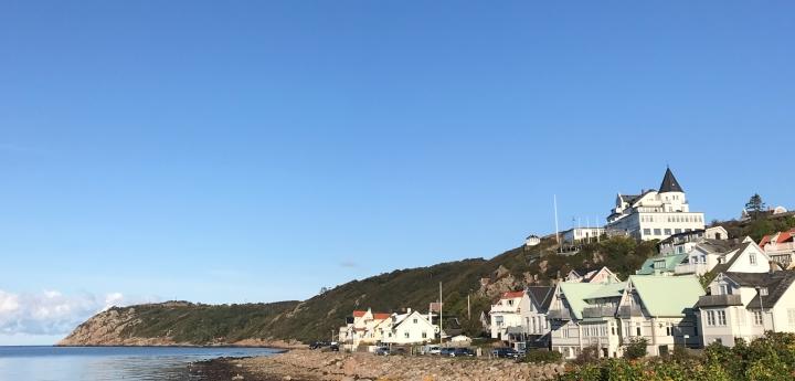 kullen halvø kullaberg sverige sweden efterår havet mölle